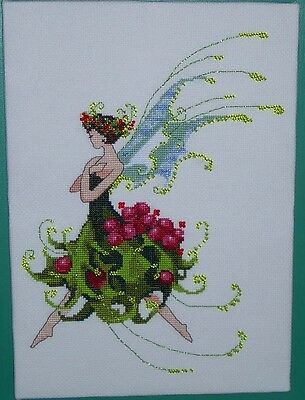 Pixie Holly - Fairy  - Cross Stitch Chart - FREE POST