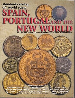 2002 BOOK Standard catalog of world coins spain portugal mexico and th new world