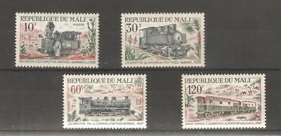 1972  Mali -  Locomotives -  Sg  367 / 370