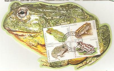 2011  Namibia - Frogs - Sg  Ms 1166  Used