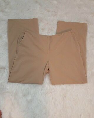Chicos womens pants sz 1.5 brown dress pants career perfect