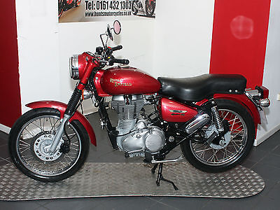 2013, '13 Royal Enfield Bullet Electra 500 Efi. Only 6,326 Miles. Only £2,995!