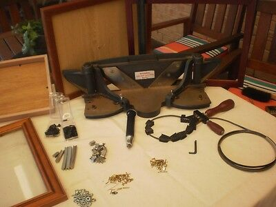Picture framing equipment and materials.