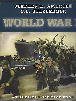 World War II (An American Heritage Hardcover) UNUSED/ LIKE NEW  *SHIPS FREE