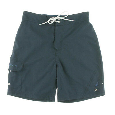NEW Mens Nautica Quick Dry Navy Basic Beach Surf Swim Board Short Size S (28-30)