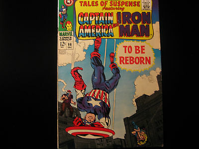 Tales of Suspense #96 1967 - MARVEL COMICS - Free Shipping