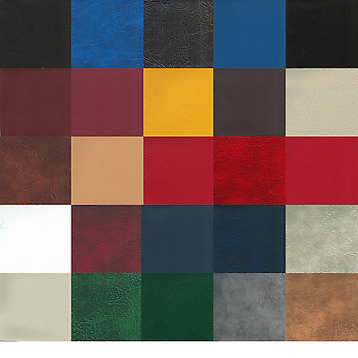 Heavy Duty Faux Leather, Leatherette Upholstery Fire Retardant Vinyl Fabric