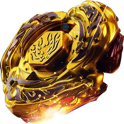 L-Drago Destructor (Destroy) GOLD Armored Metal Fury 4D Beyblade - GOOD SELLER!