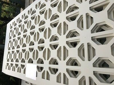 Hardboard Decorative Screen For Wall Partitions Projects Or Interiors