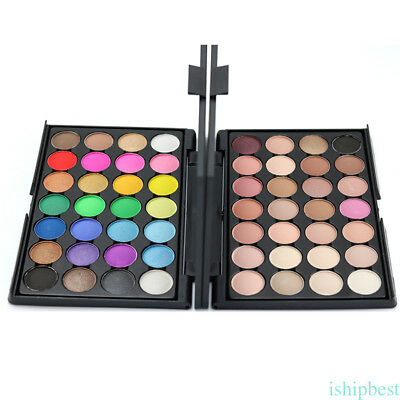 15/28/40Color Nude Eyeshadow Palette Mineral Matte Pigment Eye Shadow Waterproof