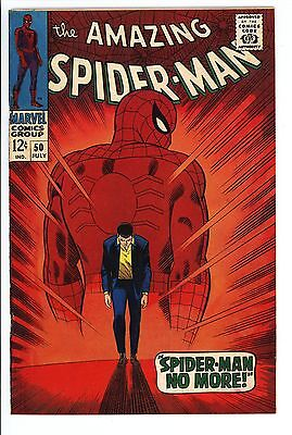 Amazing Spider-Man #50 Vol 1 Very High Grade 1st Appearance of the Kingpin