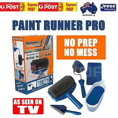 5PCS Pain Runner PRO The RENOVATOR GENUINE Item As seen on TV Wall Painting Tool