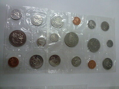 1968, 1969, 1970 Canada Mint 6 Coin Sets x 3 years