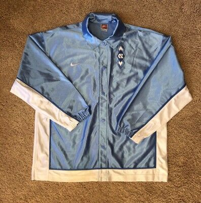 Vintage Nike NCAA UNC North Carolina Tar Heels Warm Up Jacket SZ L