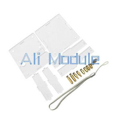 Clear Acrylic Case Shell Housing For LCR-T4 Transistor Tester ESR SCR/MOS PNP AM