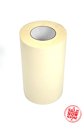 "12"" x 30' High Tack PAPER TRANSFER TAPE. Backing paper for vinyl. Typically"
