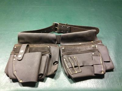 Genuine Leather Tool Belt Nail Bag Brand New