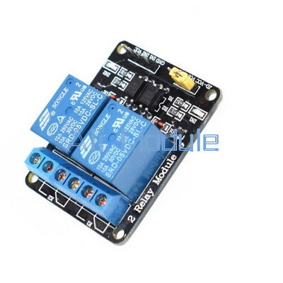 5V Two 2 Channel Relay Module With optocoupler For PIC AVR DSP ARM Arduino AM