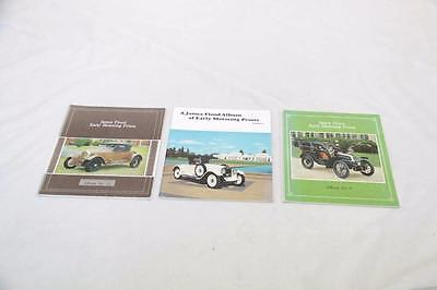 3 x James Flood Early Motoring Books of Prints - Volumes 6, 9 & 12 #12339