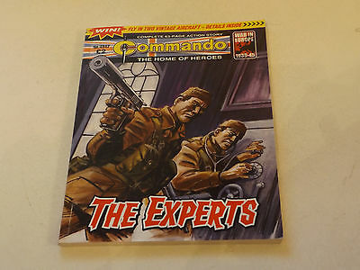 COMMANDO WAR COMIC NUMBER 4096!,2008 ISSUE,V GOOD FOR AGE,09 YEARS OLD,V RARE.
