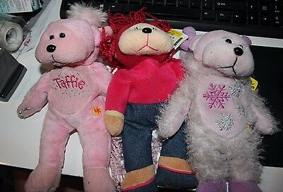 X3 beanie kids soft toy