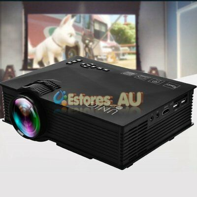 UC46+ Wifi 2.4G Full HD 1080P LED Video Projector Home Theater SD/USB/VGA/HDMI