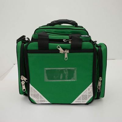 Front-Line Compact Medic Bag with Defib Pouch - Green - RRP £164.99