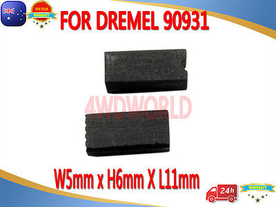 Carbon Brushes For DREMEL 90931 2610907940 rotary 398 400 Series AU