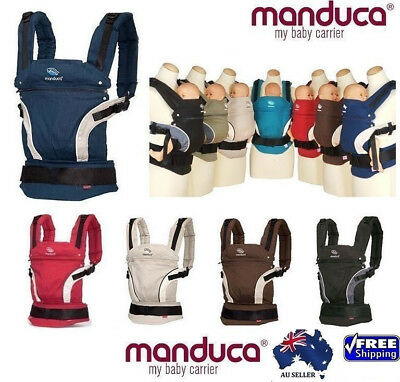 Manduca Cotton Organic Baby Newborn Carrier Infant Toddler FRONT BACK HIP Sling