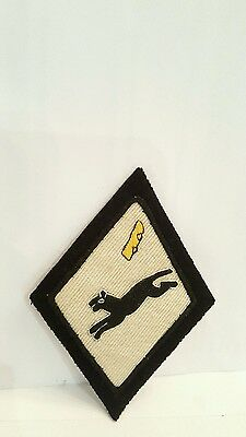 USAF 53rd Bomber Squadron Color Patch 2 3/4 x 2 1/2 inches