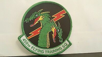 USAF 459th Flying Training Squadron Color Patch   4 3/4 x 4 1/2 inches