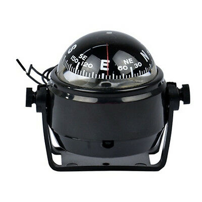 2017 Car Boat Truck Mini Digital Compass Mount Compass With LED Light Electronic