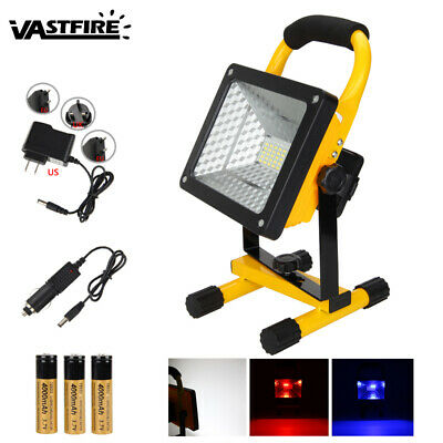 50W 36 LED Portable Rechargeable Flood Light Spot Work Camping Outdoor Lawn Lamp
