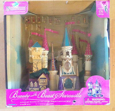 1998 Polly Pocket Trendmasters Disney Starcastle - Beauty and The Beast NRFB