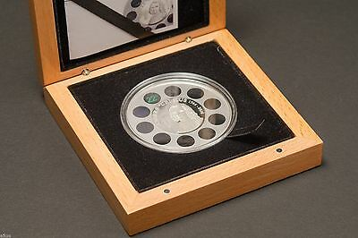 2014 Cook Islands 1oz Silver Proof Coin $5 Anders Celsius Built-in Thermometer