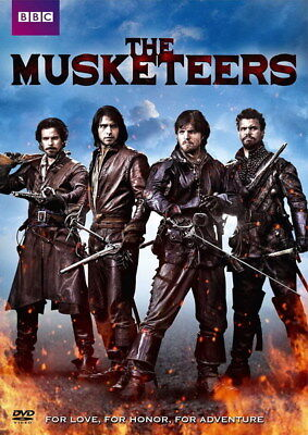"""014 The Musketeers - Season1 2 3 4 Fight Hot TV Shows 14""""x19"""" Poster"""