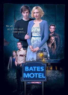 "031 Bates Motel - Freddie Highmore Horror Thriller USA TV Show 14""x19"" Poster"