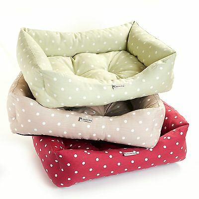 New Chilli Dog Clarke And Clarke Fabric Dog Sofa Beds. UK Made