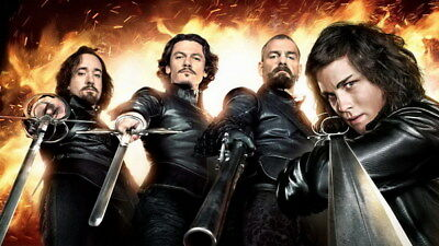 """017 The Musketeers - Season1 2 3 4 Fight Hot TV Shows 42""""x24"""" Poster"""