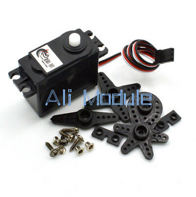 DS04-NFC 360 Degree Continuous Rotation Servos DC Geared Motor for RC Robots AM