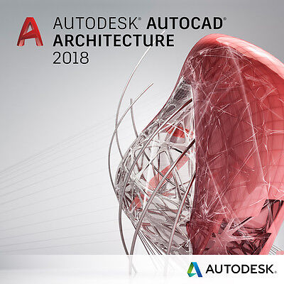 Autodesk AutoCAD Architecture 2018 - License 3 Years - Fast Delivery