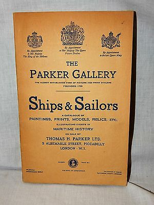 Rare The Parker Gallery Ships & Sailors Illustrating Events In Maritime History