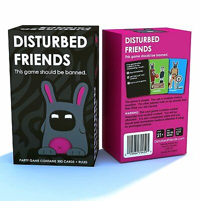 Disturbed Friends - This Game Should be Banned Cards Game