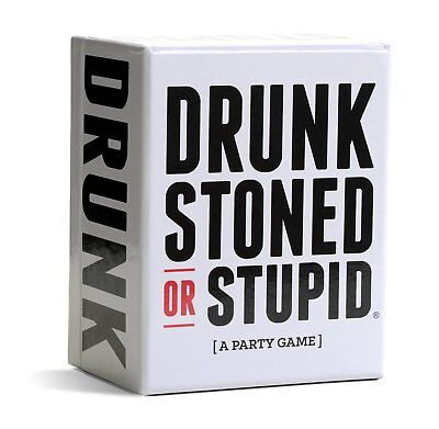 DRUNK STONED OR STUPID A Party Game DRUNK STONED STUPID NEW Sealed