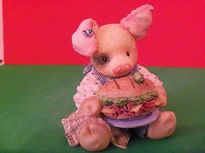 """This Little Piggy-""""This Little Piggy ate Roast Beef""""- 1994 Mary Rhyner"""