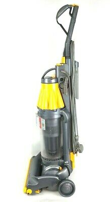 Dyson Dc07 Origin Yellow Serviced & Cleaned Upright Vacuum Cleaner Free P&P