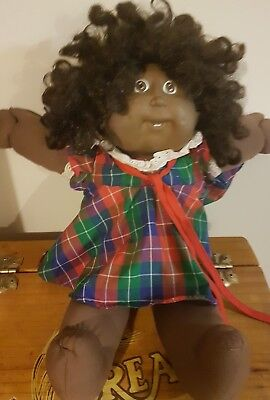 1982 Authentic Cabbage Patch Kids African American - Original Outfit