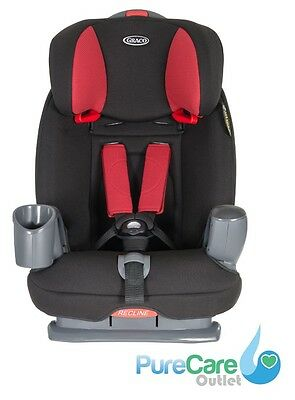 Graco Nautilus Diablo Group 1,2 & 3 Childs Car Seat Booster - NEXT DAY DELIVERY