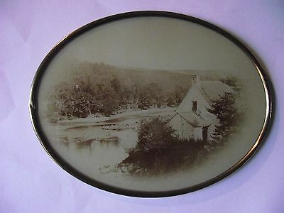 Framed Vignette Photograph of The Vale of Avoca.Wicklow Ireland.c1890s AH8008.