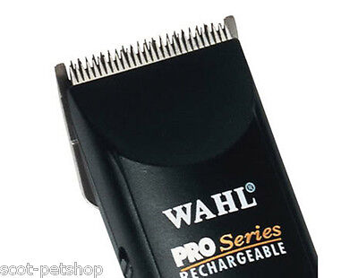 Wahl Cordless Rechargeable Pro Series Pet Clipper Set With 4 Combs Oil Brush